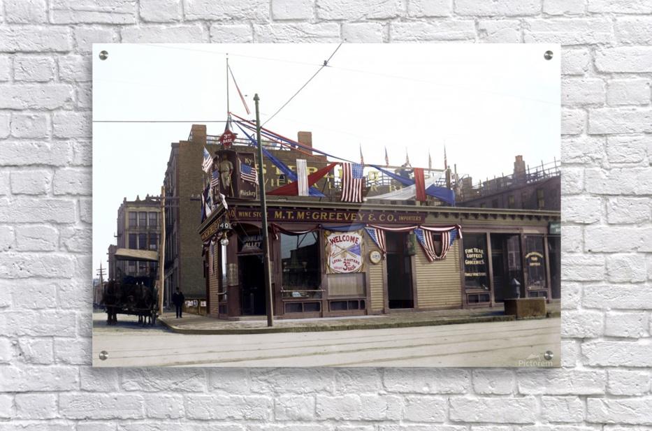 McGreevys Third Base Saloon Boston 1903  Acrylic Print