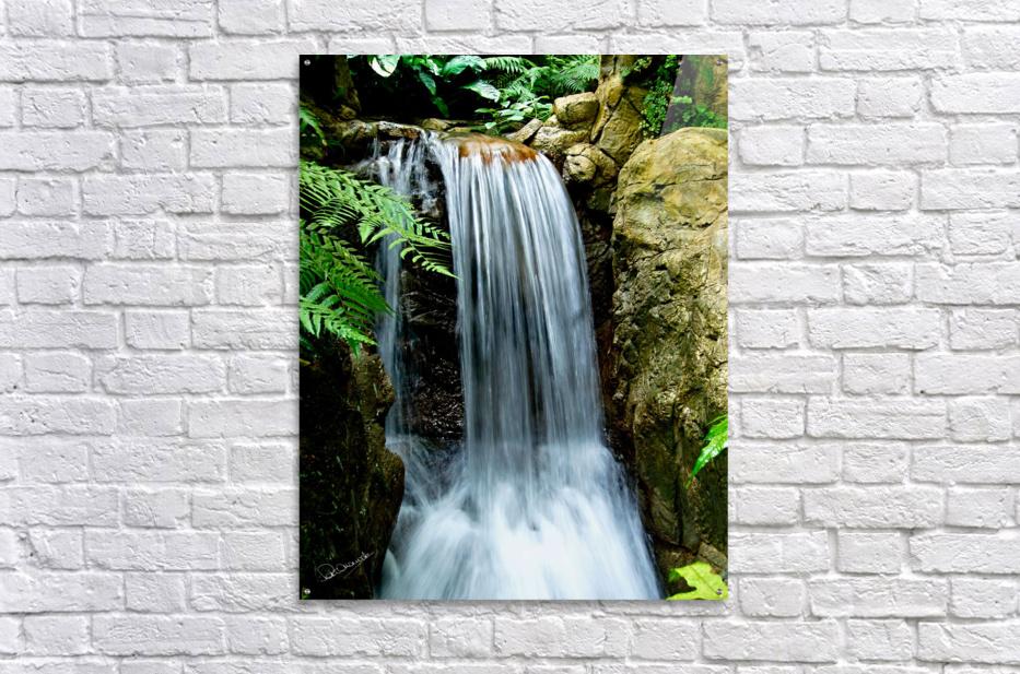LIttle Hong Kong Park Waterfall  Acrylic Print