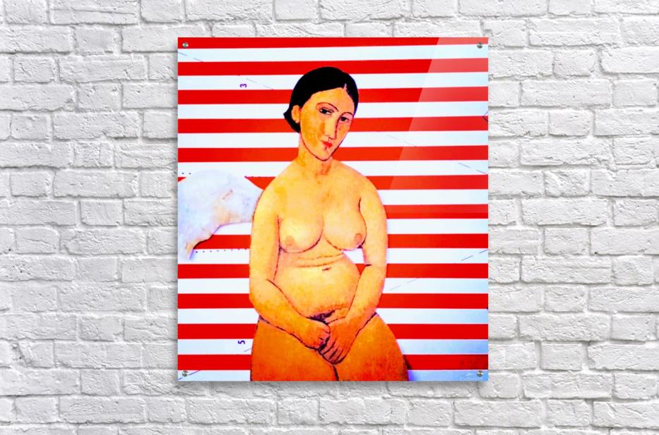 erotic angel  Acrylic Print