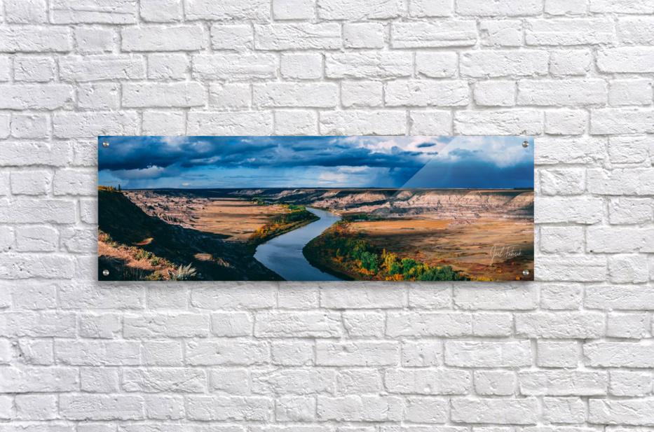 Orkney Fall 2018 Panorama 3x1  Acrylic Print