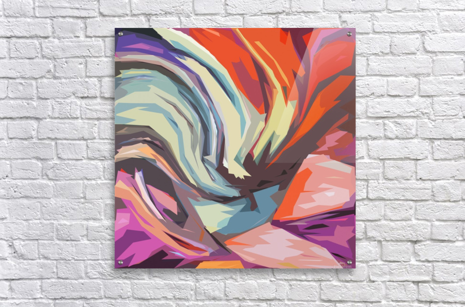 Abstract Composition 744  Acrylic Print