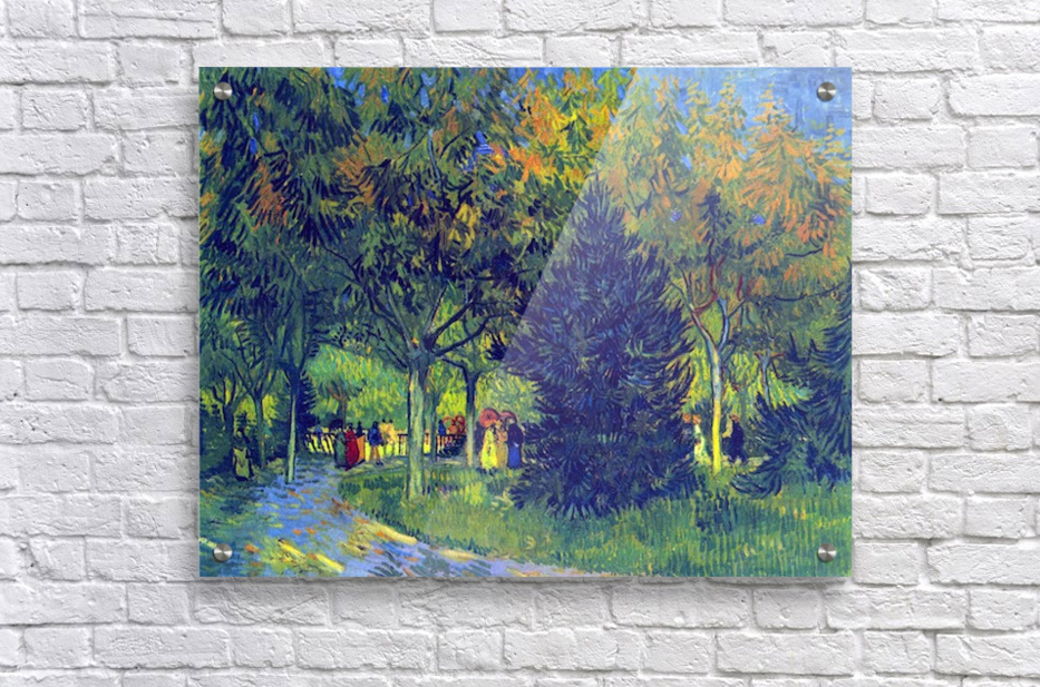 Allee in the Park by Van Gogh  Acrylic Print