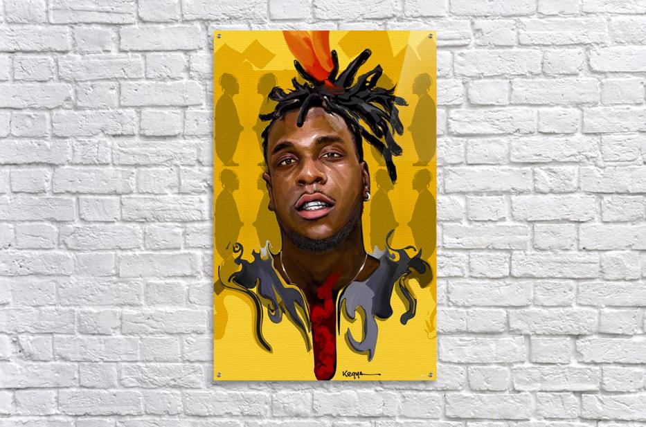 BURNA BOY  Acrylic Print