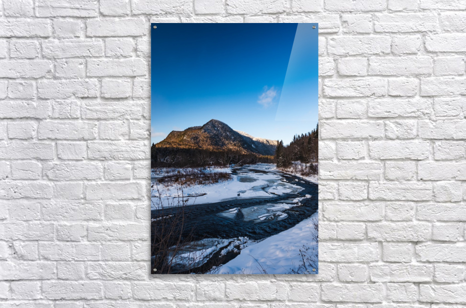 Blue freeze  Acrylic Print