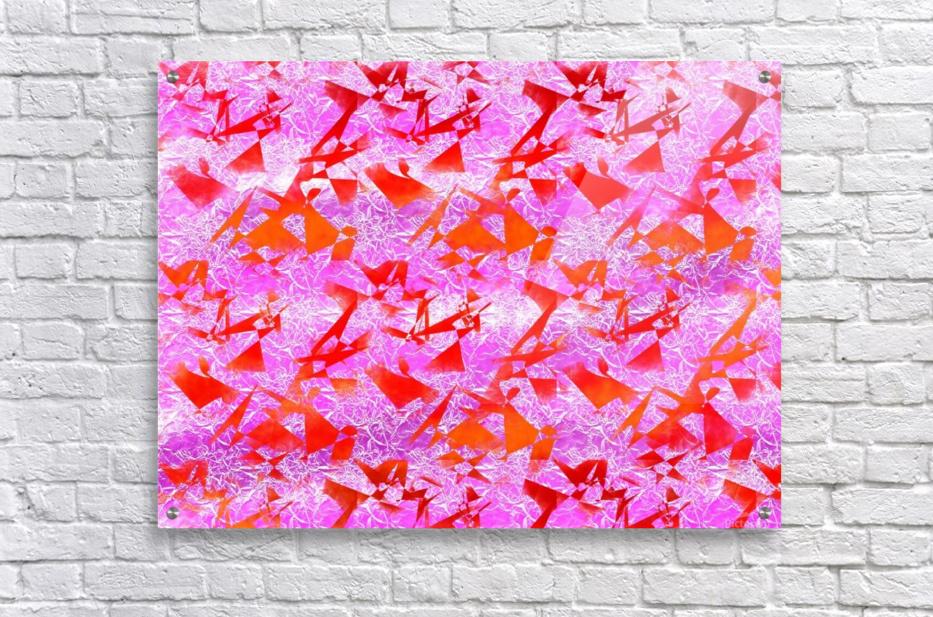 Ice In Sunshine 1  Acrylic Print