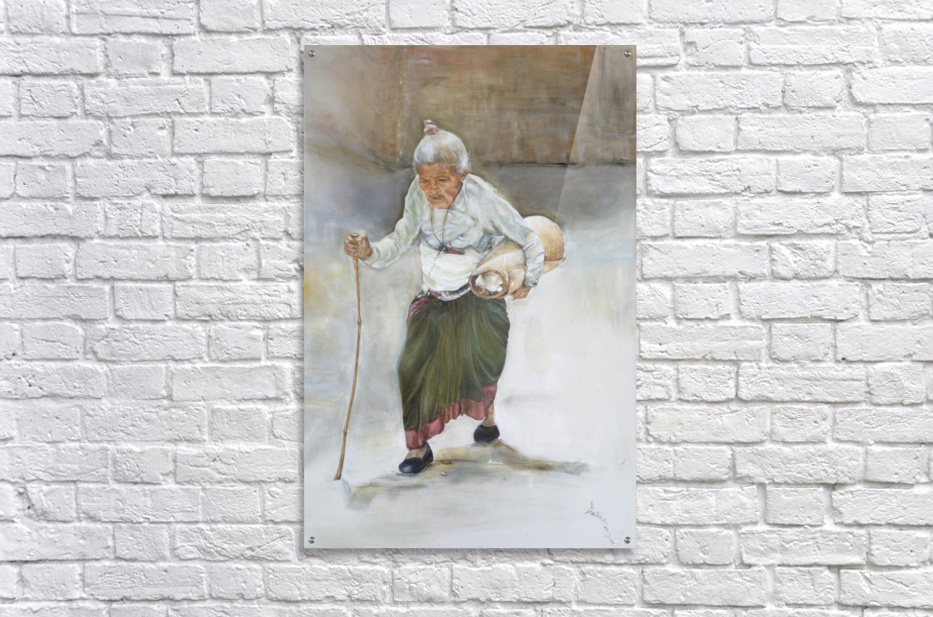 Old_Woman_High_Res  Impression acrylique