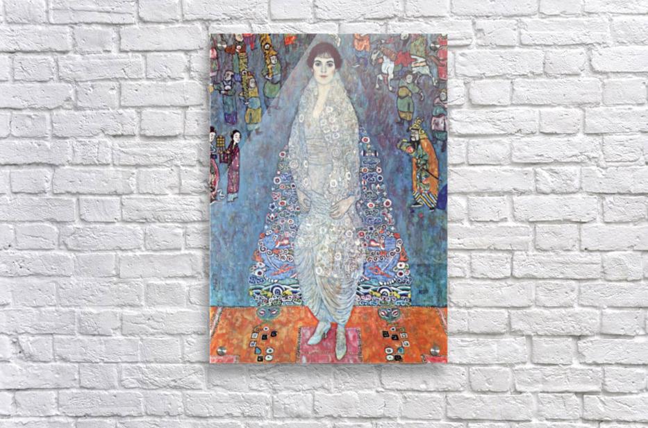 Baroness Elizabeth by Klimt  Acrylic Print