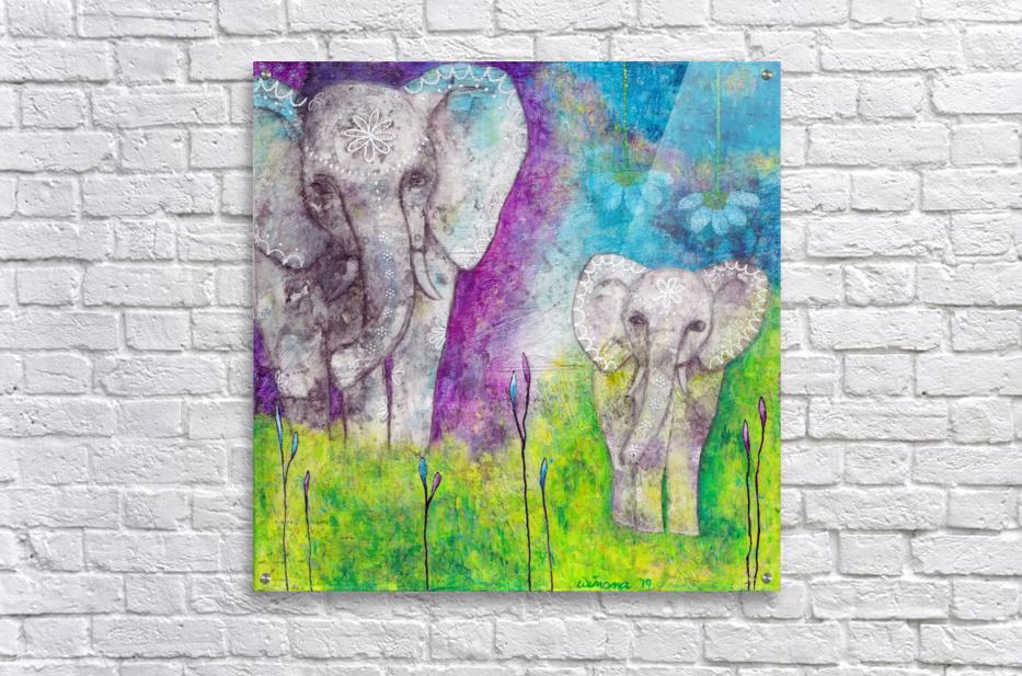 Josephine & Lily  Acrylic Print