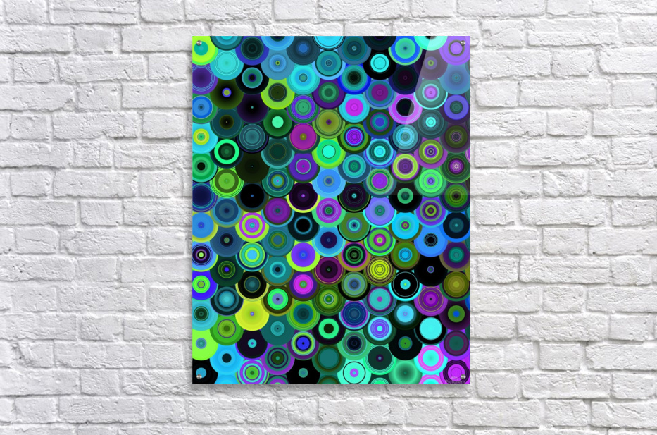 generated_Glitch43  Acrylic Print