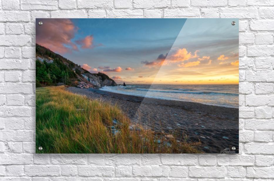 Sunset Relief  Acrylic Print