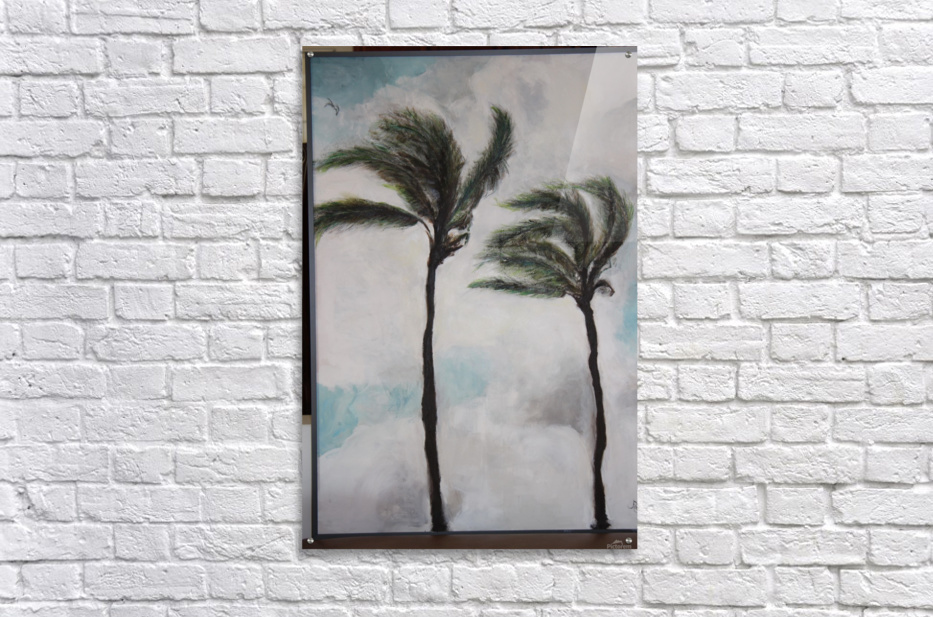 Palms  Impression acrylique
