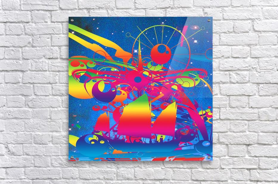 Star Ship  Acrylic Print