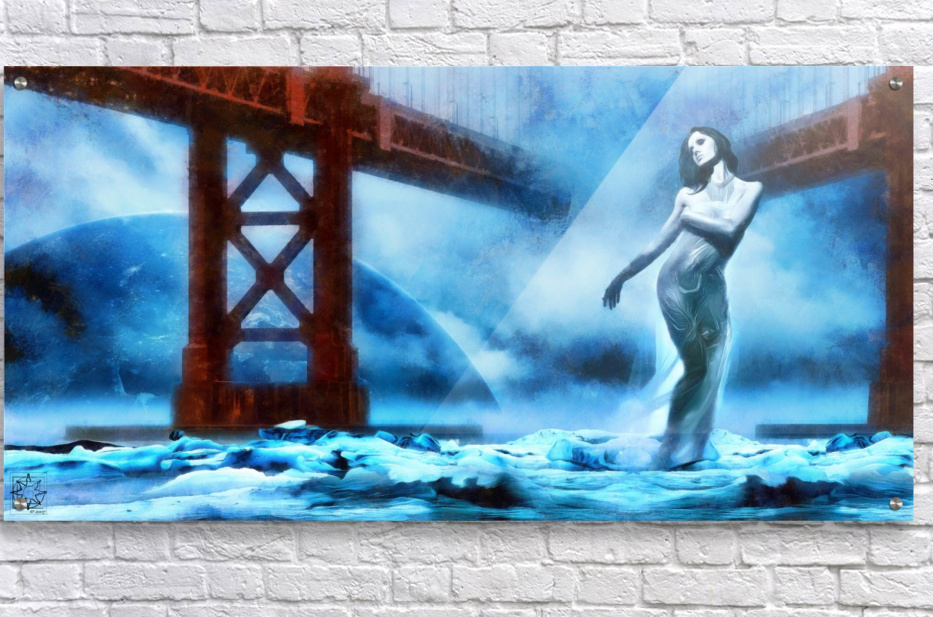 The Water Witch  Acrylic Print