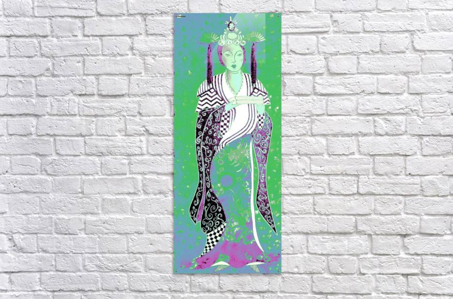 RÚ--in Green  Acrylic Print