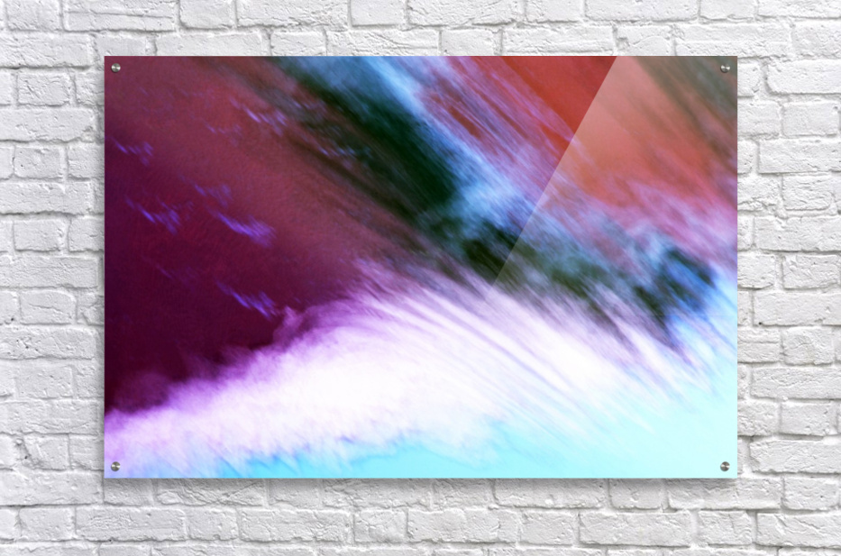 Water fall abstraction  Acrylic Print