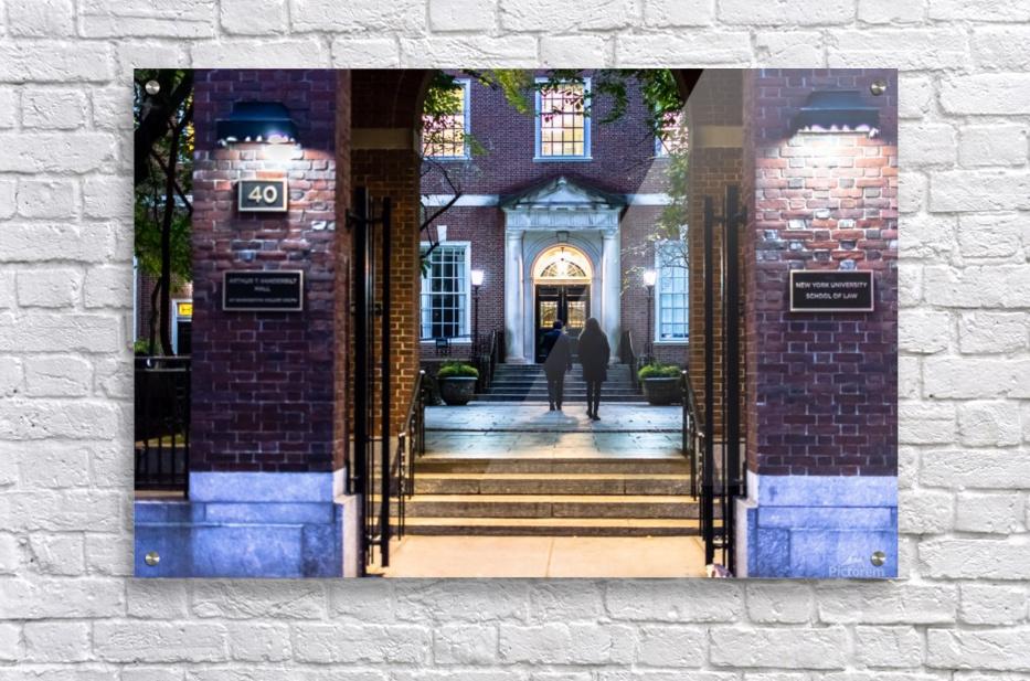 New York University School of Law  Vanderbilt Hall  Acrylic Print