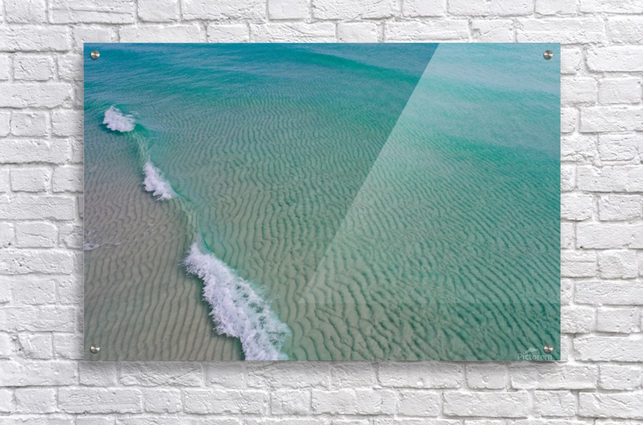 Clear Beach   Acrylic Print