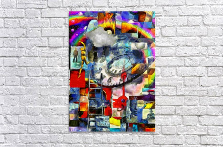 Elements of Human Consciousness  Acrylic Print
