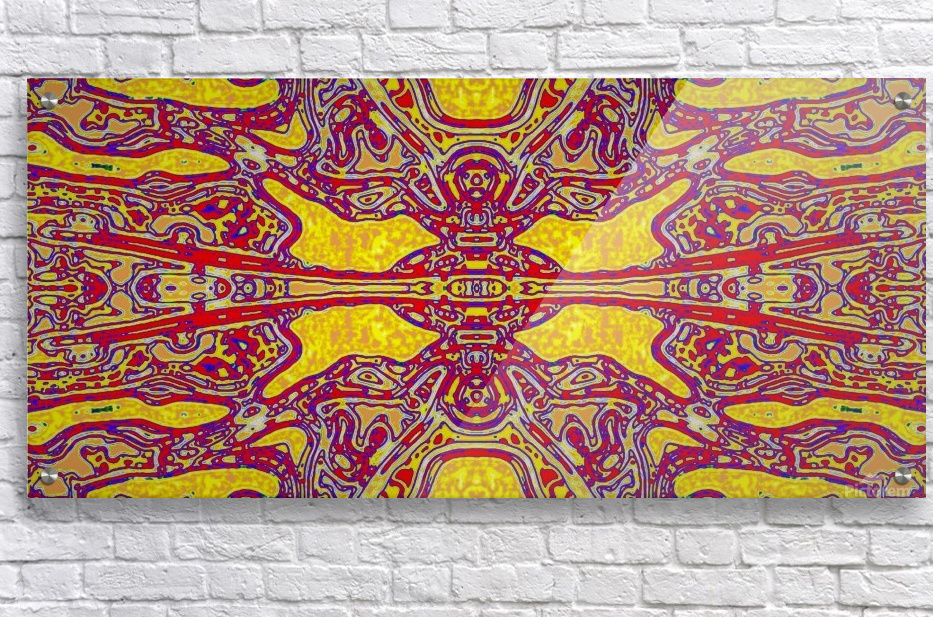 THE BUSINESSMANS DARK HELL  Acrylic Print