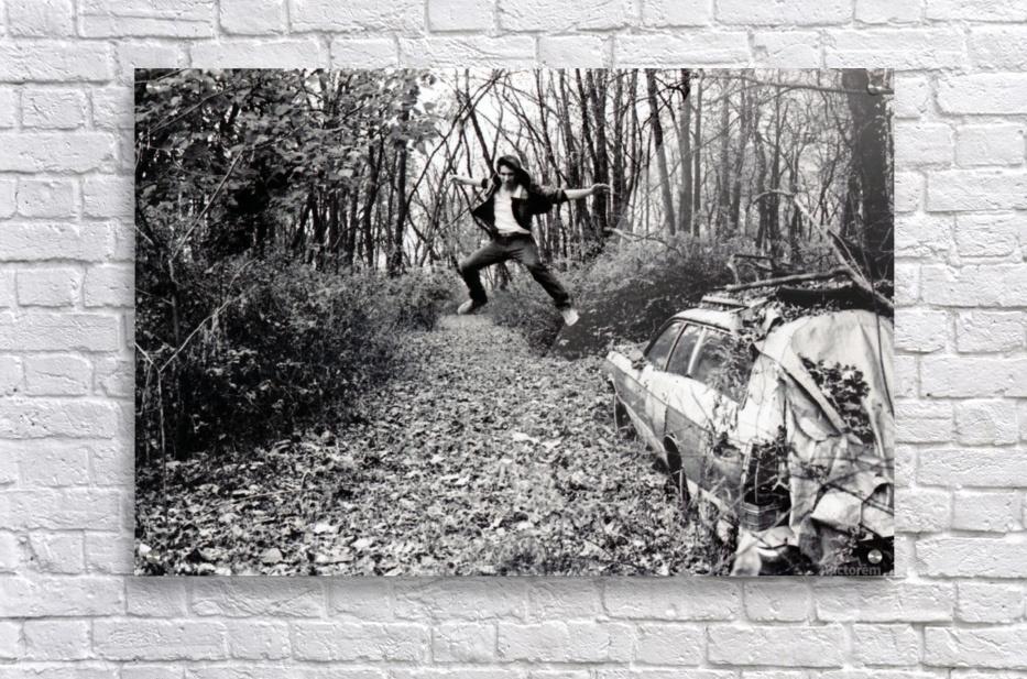 Back Driveway Superhighway  Acrylic Print