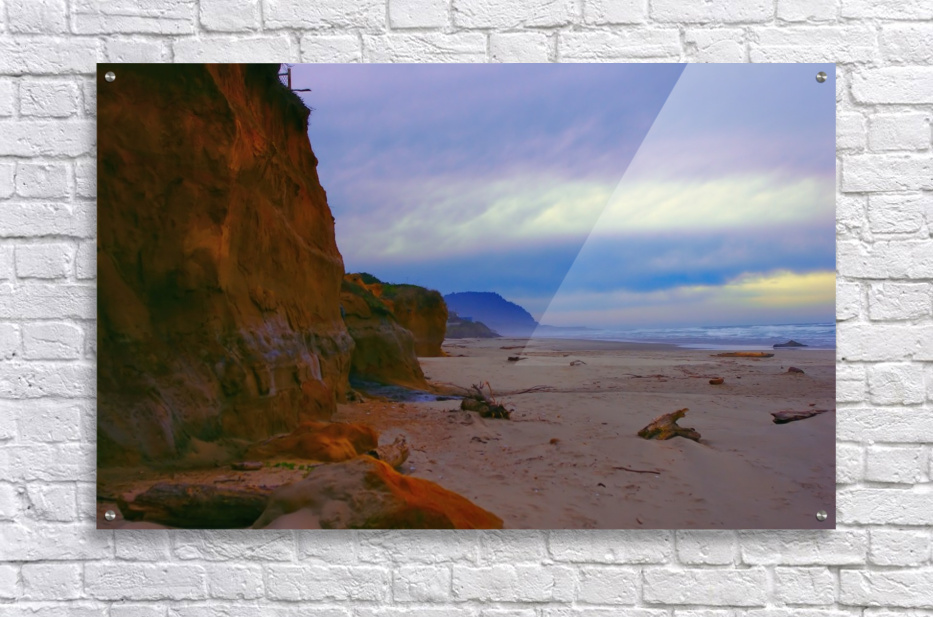 At the Coast  Acrylic Print