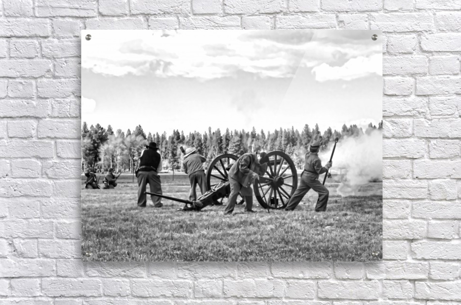 U. S. Civil War Re-enactment  Acrylic Print
