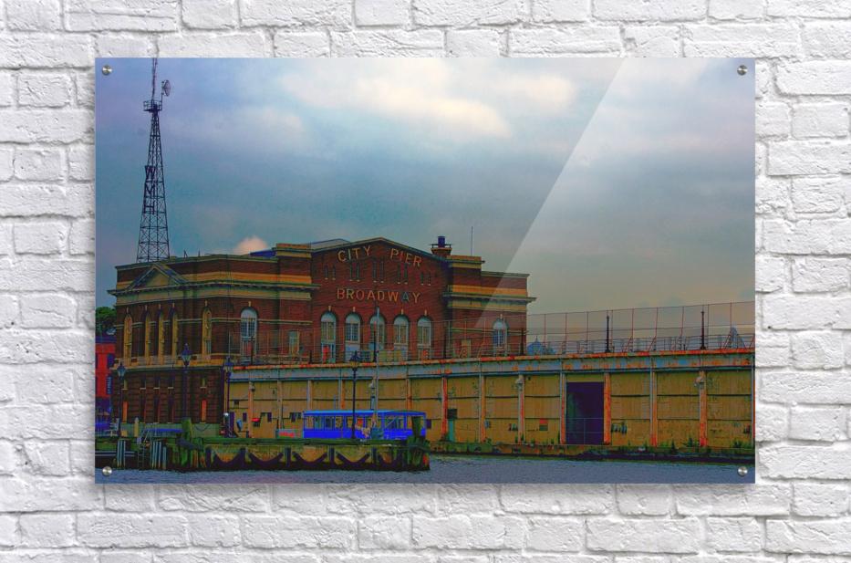 Port of Baltimore MD  Acrylic Print