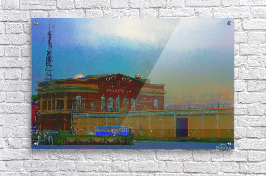 Baltimore Port Maryland   Acrylic Print
