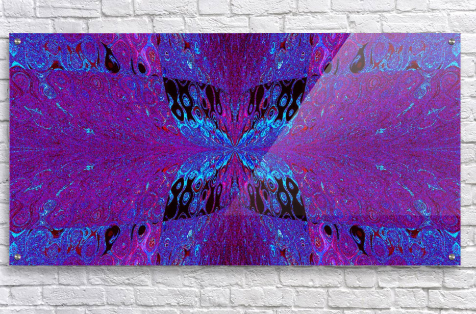 Butterfly in Crystal 29  Acrylic Print