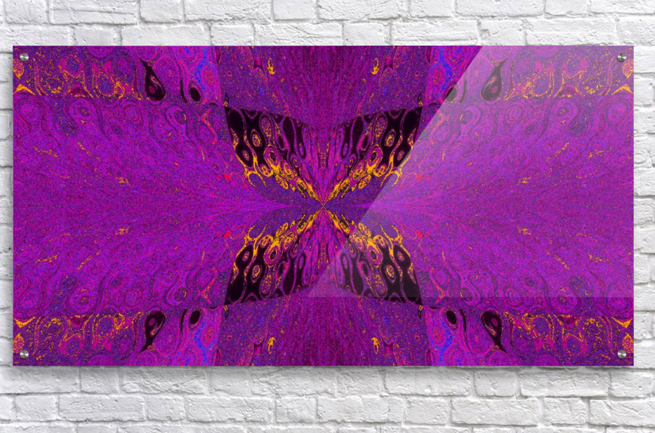 Butterfly in Crystal 37  Acrylic Print
