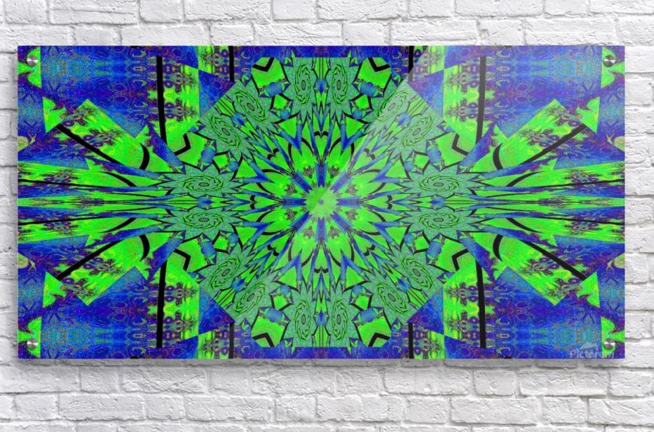 Dahlia in Green  Acrylic Print