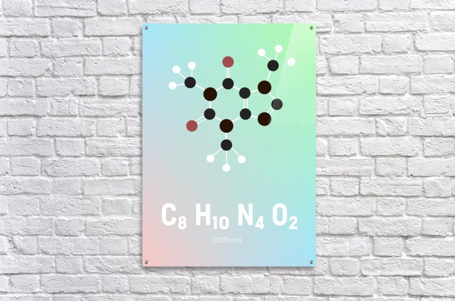 Koffein modern soft  Acrylic Print