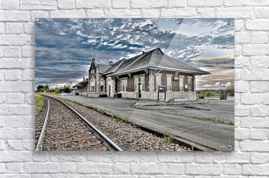Gare  Impression acrylique