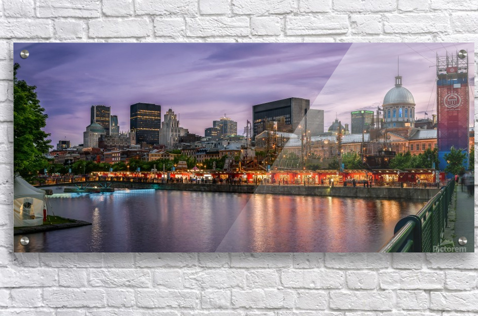 Old Port Of Montreal  Acrylic Print