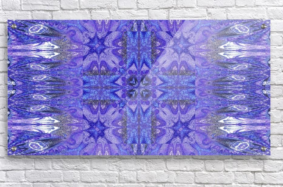 Stone Light Flower 10  Acrylic Print