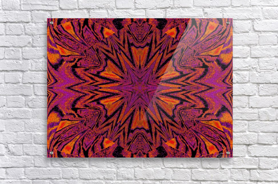 Velvet Spring Flower  Acrylic Print