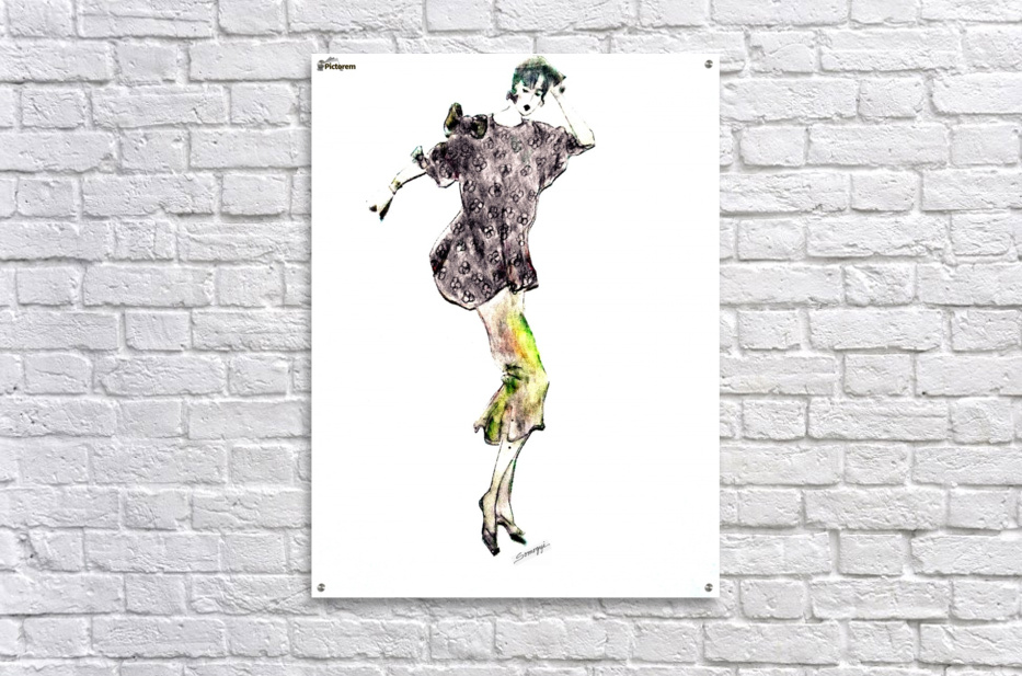 1980's Fashion  Acrylic Print