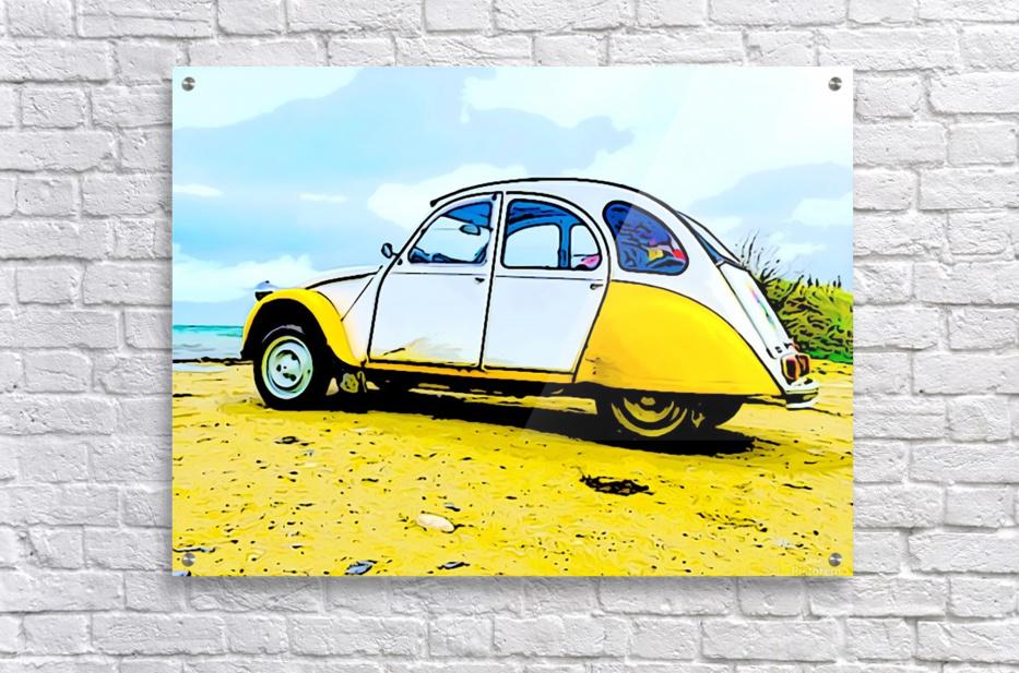 Beach Car  Acrylic Print