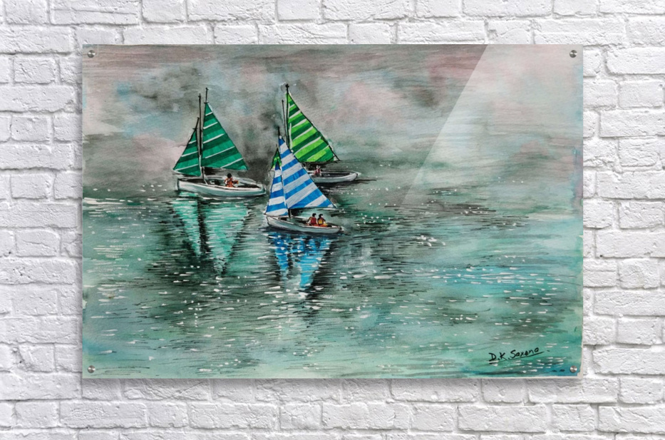 Naini lake_DKS  Acrylic Print