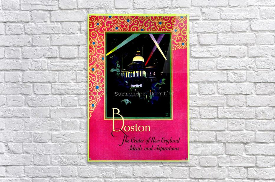 Boston USAEdited  Acrylic Print