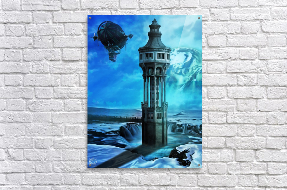 The North Tower  Acrylic Print