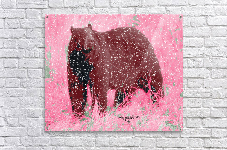 Standing Guard in Snow  Acrylic Print
