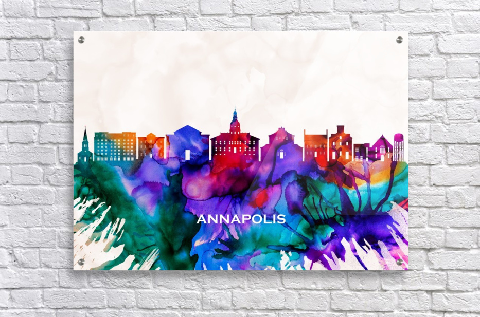 Annapolis Skyline  Acrylic Print