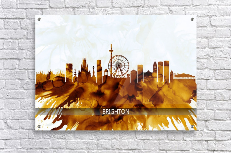 Brighton England Skyline  Acrylic Print