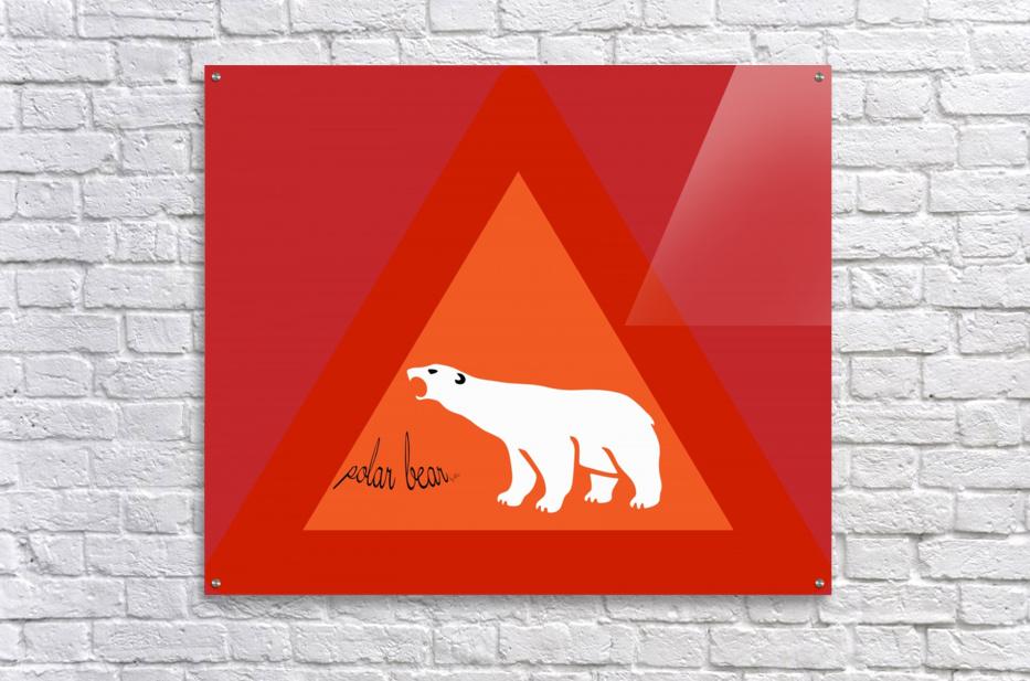 Polar Bear by dePace  Acrylic Print