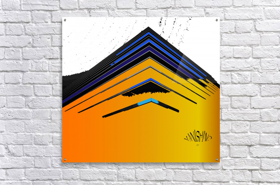 Vanishing by dePace  Acrylic Print