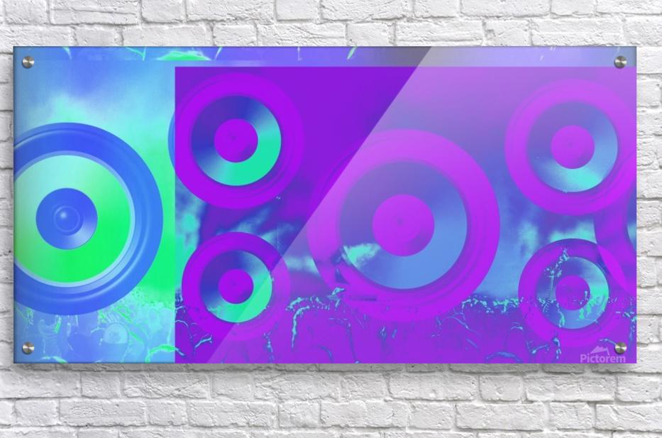 Music is energy  Acrylic Print