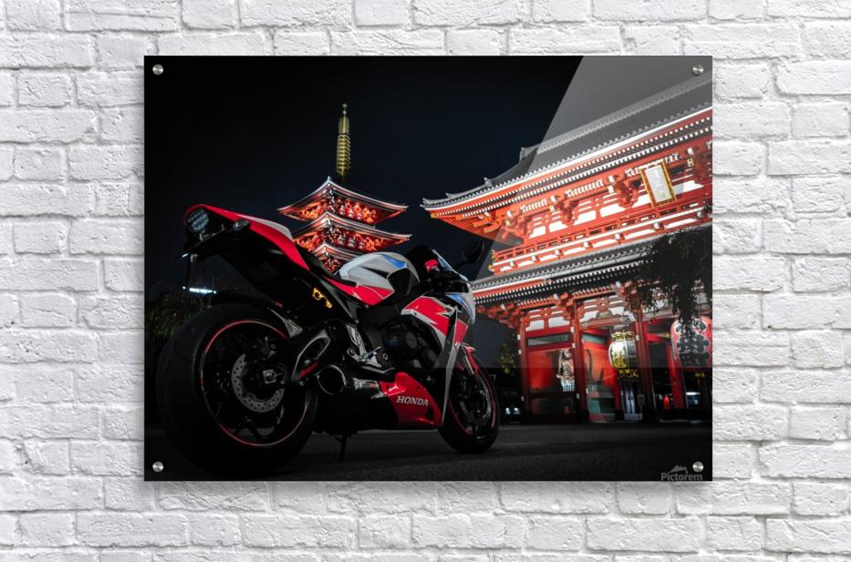Honda At The Temple  Acrylic Print