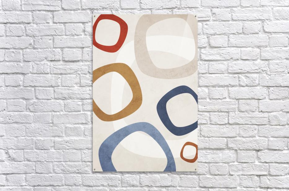 Shapes 08 - Abstract Geometric Art Print  Acrylic Print