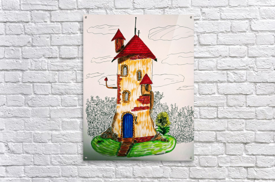 Wizard Tower  Acrylic Print
